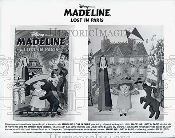 1999 prensa fotos Disney película animada