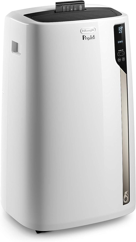 DeLonghi Pingüino EL98 Aire Acondicionado Portátil, 10700 Btu/h, 2.7 kW, Eco Real Feel para Mayor Comodidad y Ahorro, Ventilador y Deshumidificador, Temporizador, Mando a Distancia: Amazon.es: Hogar