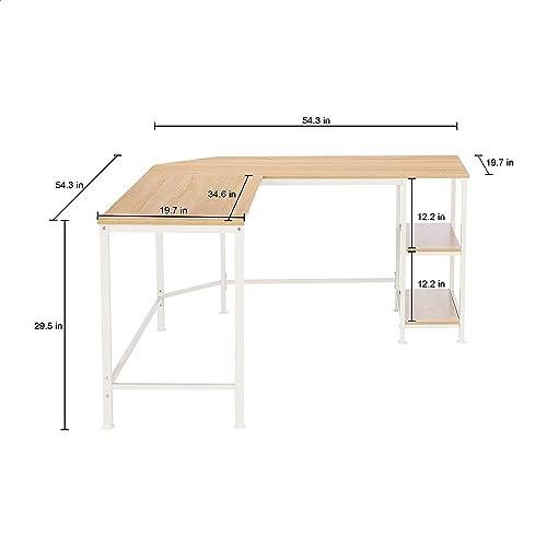Cheap Amazon Basics L-Shape Computer Desk modern office desk for sale