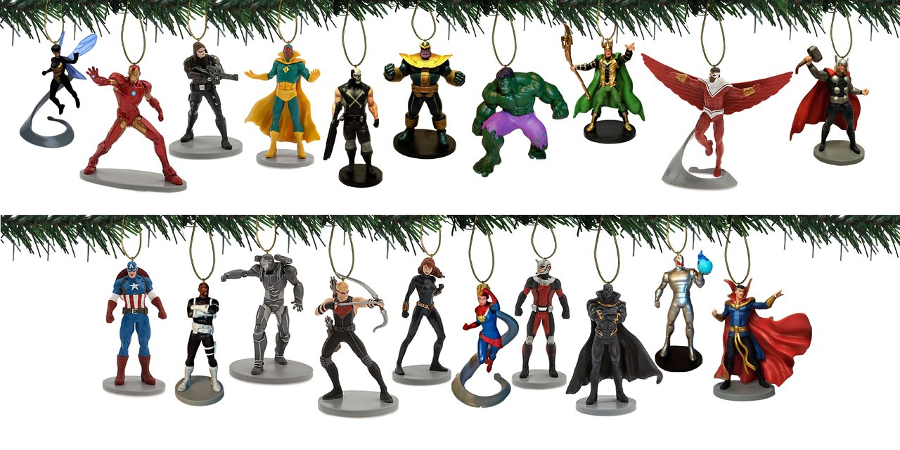 Disney Avengers 20pc Ornament Set