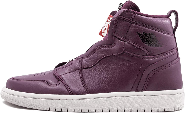 Jordan Womens Air Jordan 1 High Zip Prem Fabric Hight Top Zipper Running Snea.