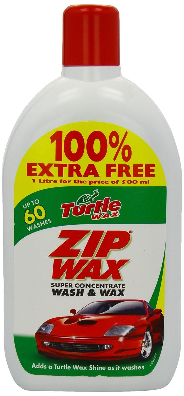 Turtle Wax Zipwax Wash and Wax 500ml Plus 100 Percent Free Saxon Industries TZ8 B004D7RNP6