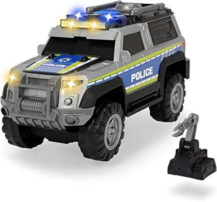 Dickie Toys 203306003 Police SUV Toy car with Various Functions, Multicoloured