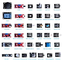 ELEGOO 37-in-1 Sensor Pack Sensor Module Kit With Free PDF Tutorial Compatible with Arduino UNO R3, Raspberry Pi, MEGA 2560, NANO