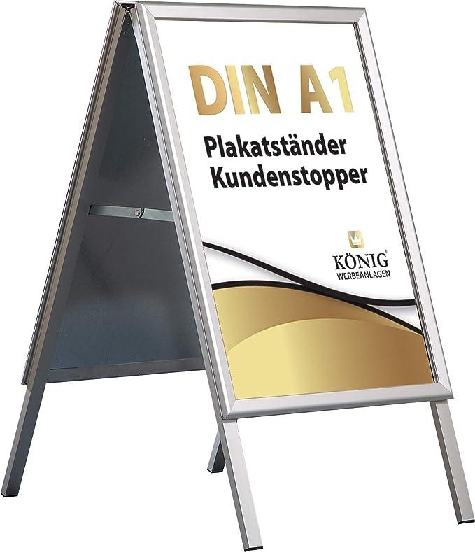 Prospektkorb DIN A4 für KUNDENSTOPPER PLAKATSTÄNDER