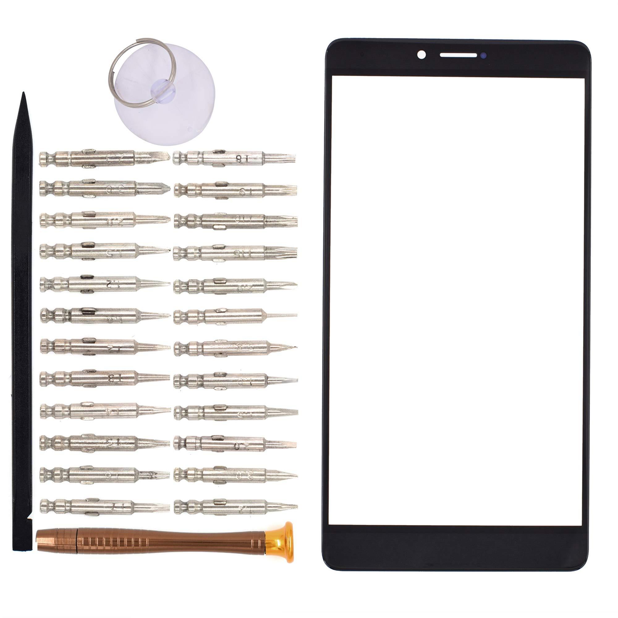 Vidrio Frente Para Huawei Honor Note 8 Negro [goodyitou]