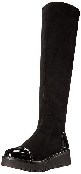 Azura by Spring Step Women's Quappa Riding Boot, Black, 35 EU/5 M