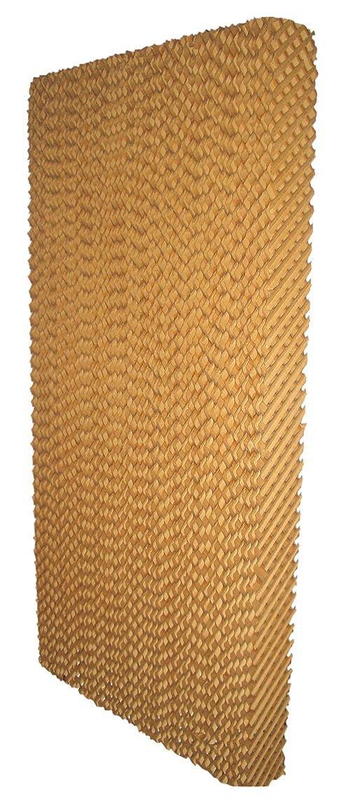 Industrial Grade 4KCC6 Cooling Pad , Kraft Paper, 48x12x4 (Pack of 5)