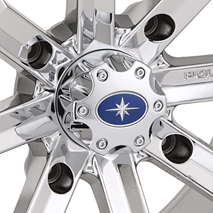 1521509-410 Polaris New OEM RZR Ranger Wheel Hub Center Cap Luster Chrome