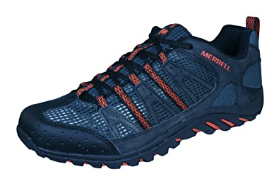 284e25247178 Merrell Mykos Jet Mens Trail Running Sneakers Shoes -Black-12.5