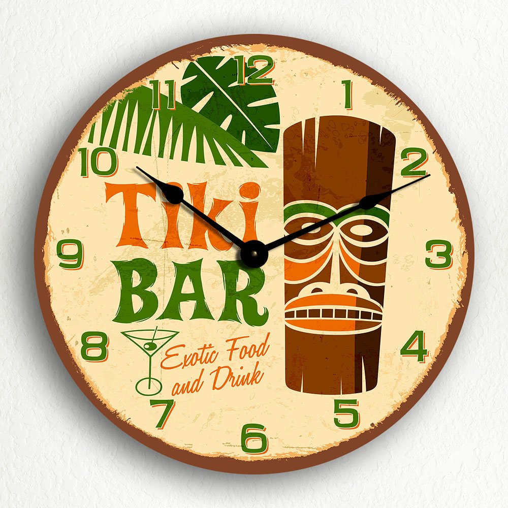 Amazon.com: Tiki Bar Retro Tropical Polynesian Themed 12\