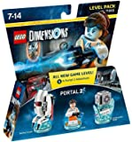 Figurine 'Lego Dimensions' - Chell - Portal : Pack Aventure