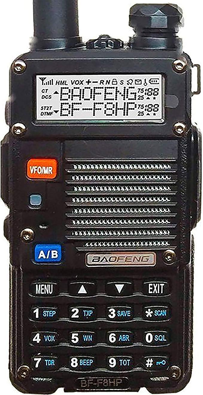 UV-5R-2 BF-F8 BF-F8+ UV-5R-7 UV-5R - Compatible with Baofeng UV-5R-5 2X Pack 2800mAh, 7.4V, Lithium-Ion BF-F9 UV-5R-6 Baofeng UV-5R Two-Way Radio Battery Replacement UV-5R-L UV-5R-5