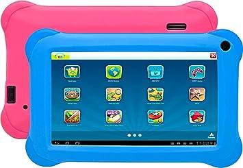 Denver Tablet Taq 70283kbluepink 7 Quad Core Amazonde Elektronik