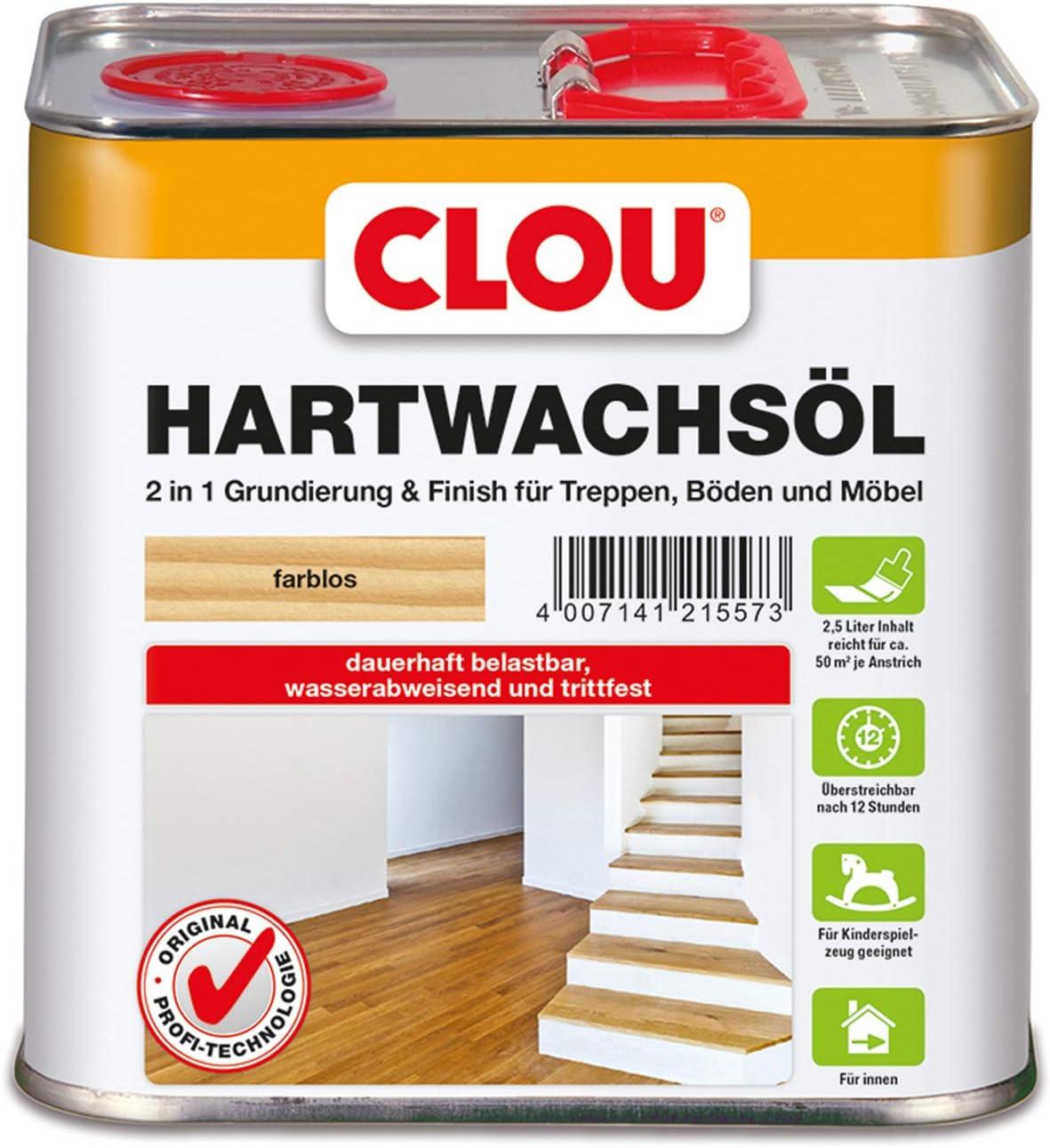 Format 4007141215573 - Hartwachs-ñl farblos 2.5l: Amazon.es: Bricolaje y herramientas
