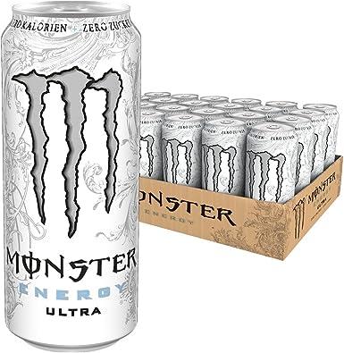 Monster Ultra White 50cl (pack de 24): Amazon.es: Alimentación y ...
