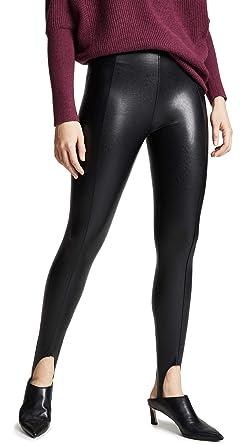 c76f36ec5 commando Women s Faux Leather Stirrup Pants at Amazon Women s ...