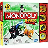 Traditional games have fun with this classic board games and dice games - kids Children Perfect Ideal Christmas Present Birthday gift stocking filler (Monopoly Junior Board Game)