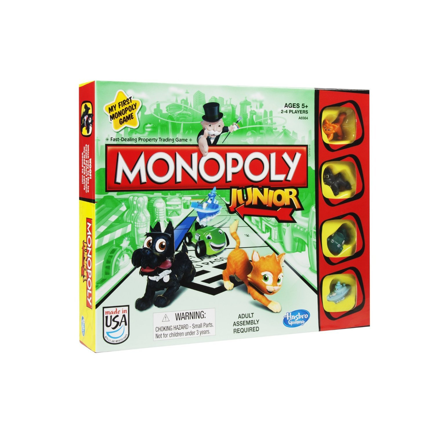 Traditional games have fun with this classic board games and dice games - kids Children Perfect Ideal Christmas Present Birthday gift stocking filler (Monopoly Junior Board Game) by GBP INTERNATIONAL: Amazon.es: Juguetes