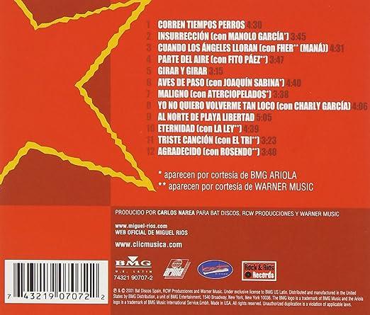 Rios Miguel Miguel Rios Y Las Estrellas Del Rock Latino Music