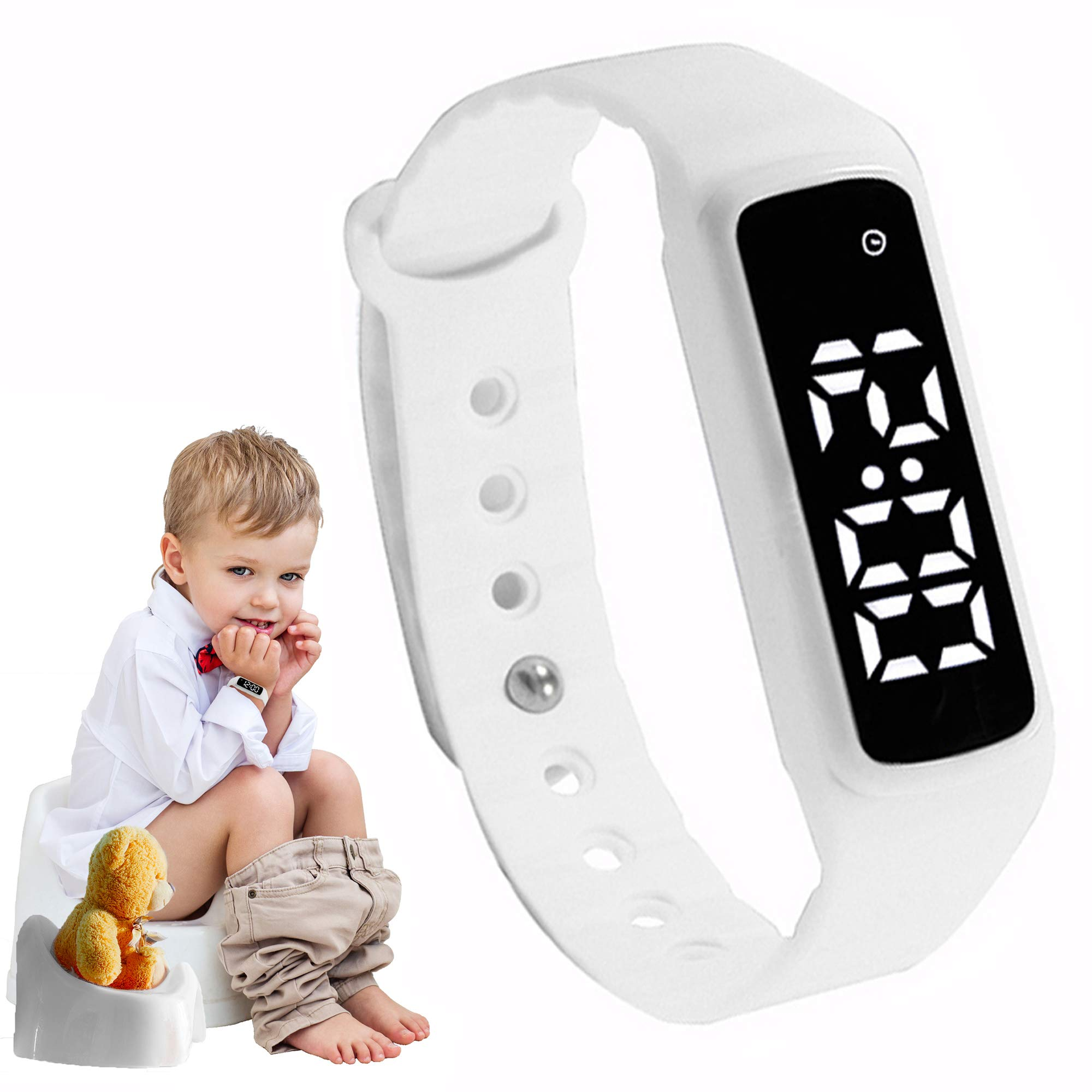 Potty Training Watch - Baby Reminder Water Resistant Timer - Potty Trainer for Toilet Training Boys & Girls - Kids & Toddler Potty Training Toilet Watches