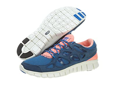 6fac3c504ca68 Nike Nike Free Run 2 Mens 537732-446 BRAVE BLUE 11 D(M) US  Buy Online at  Low Prices in India - Amazon.in