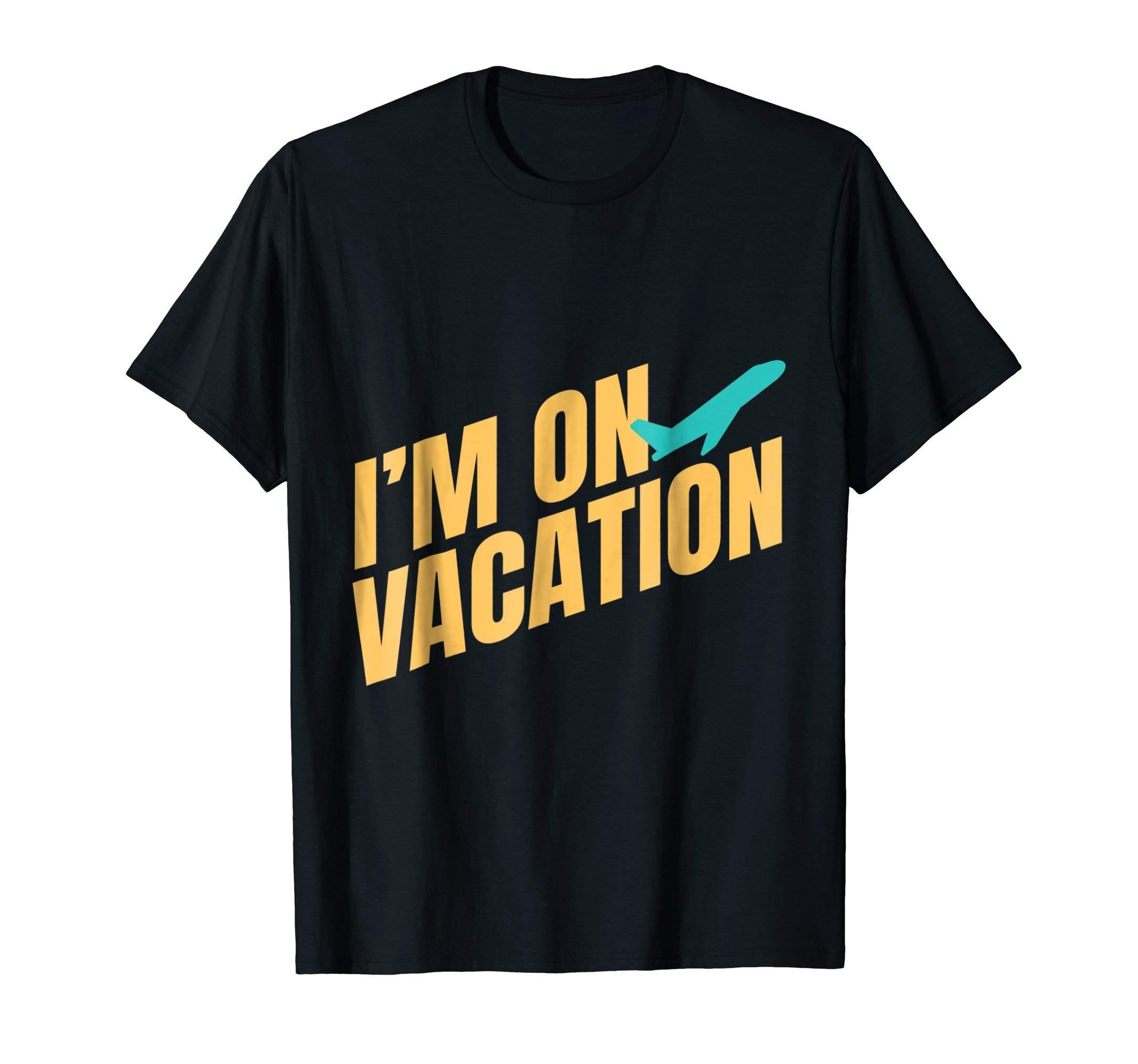 Vacation T-Shirt Travel Summer Spring Break Retirement