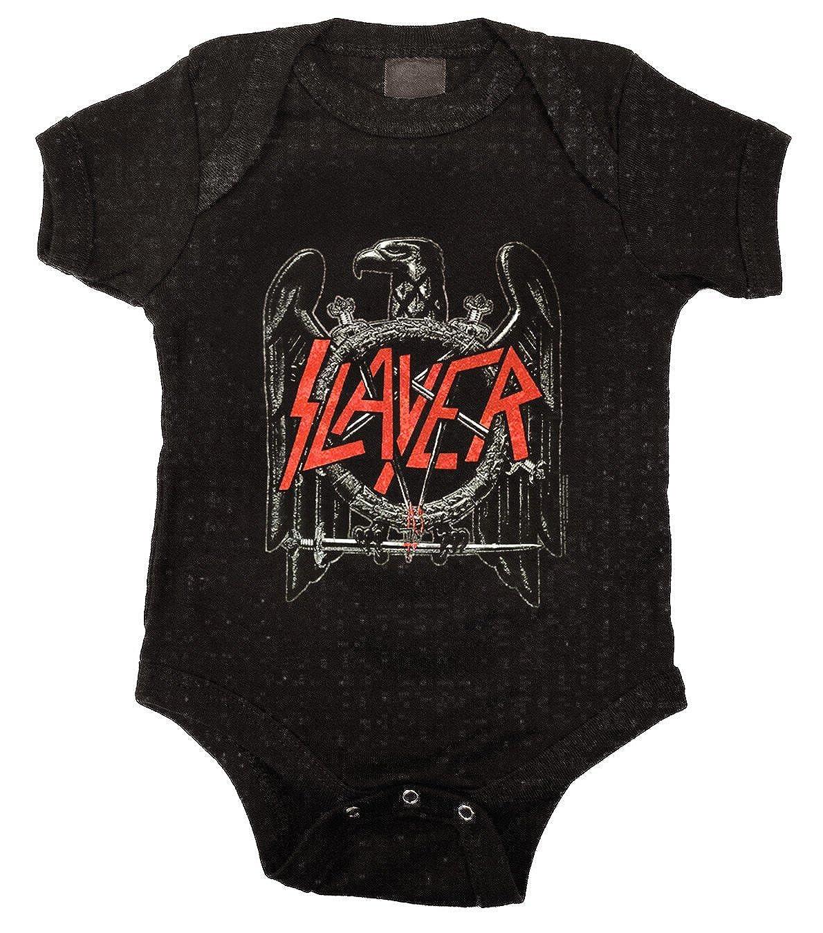 81a2850a Kiditude Unisex-baby Slayer Eagle Onesie Bodysuit Romper: Amazon.ca ...