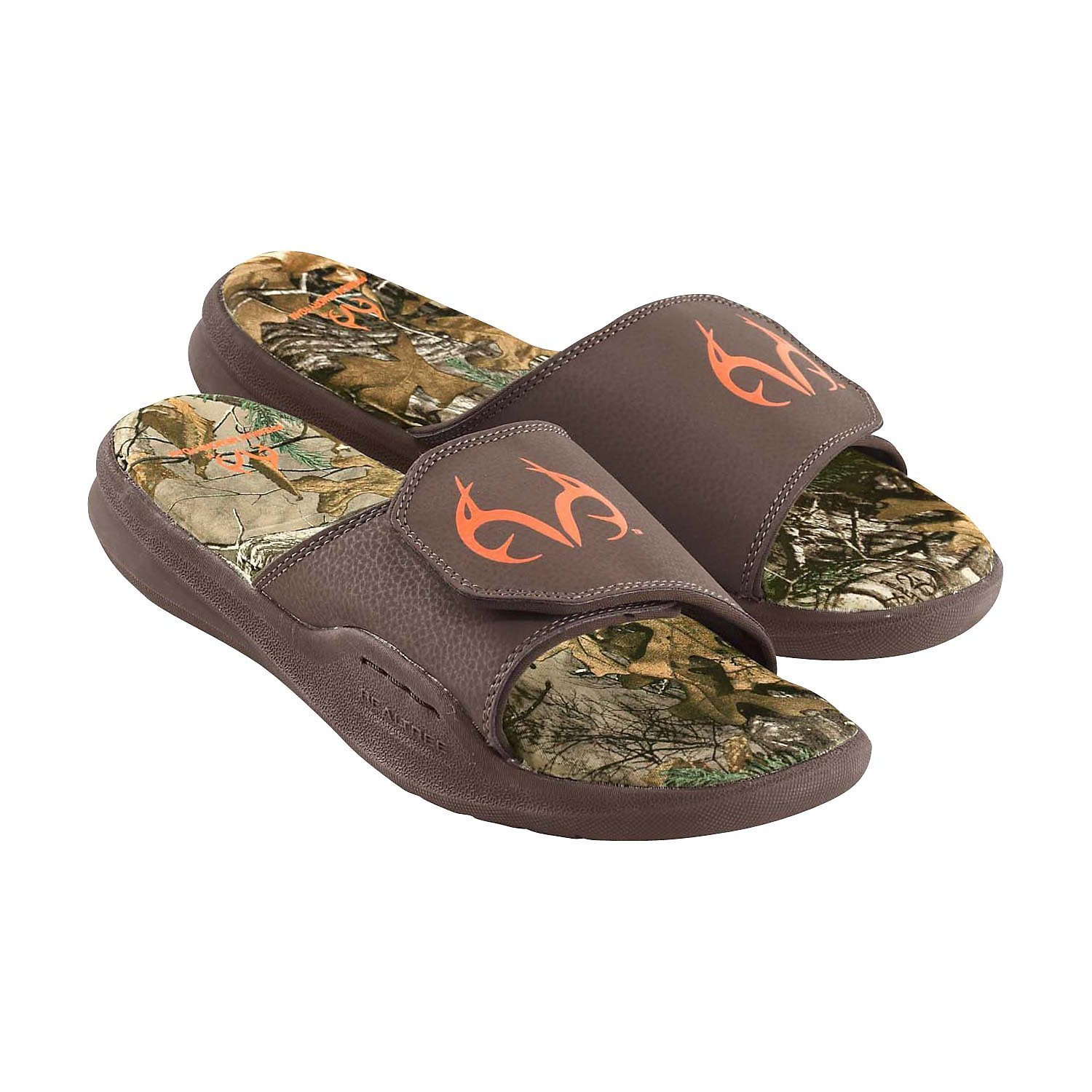 Legendary Whitetails Men's Realtree Camo Back Trail Cushioned Sandals
