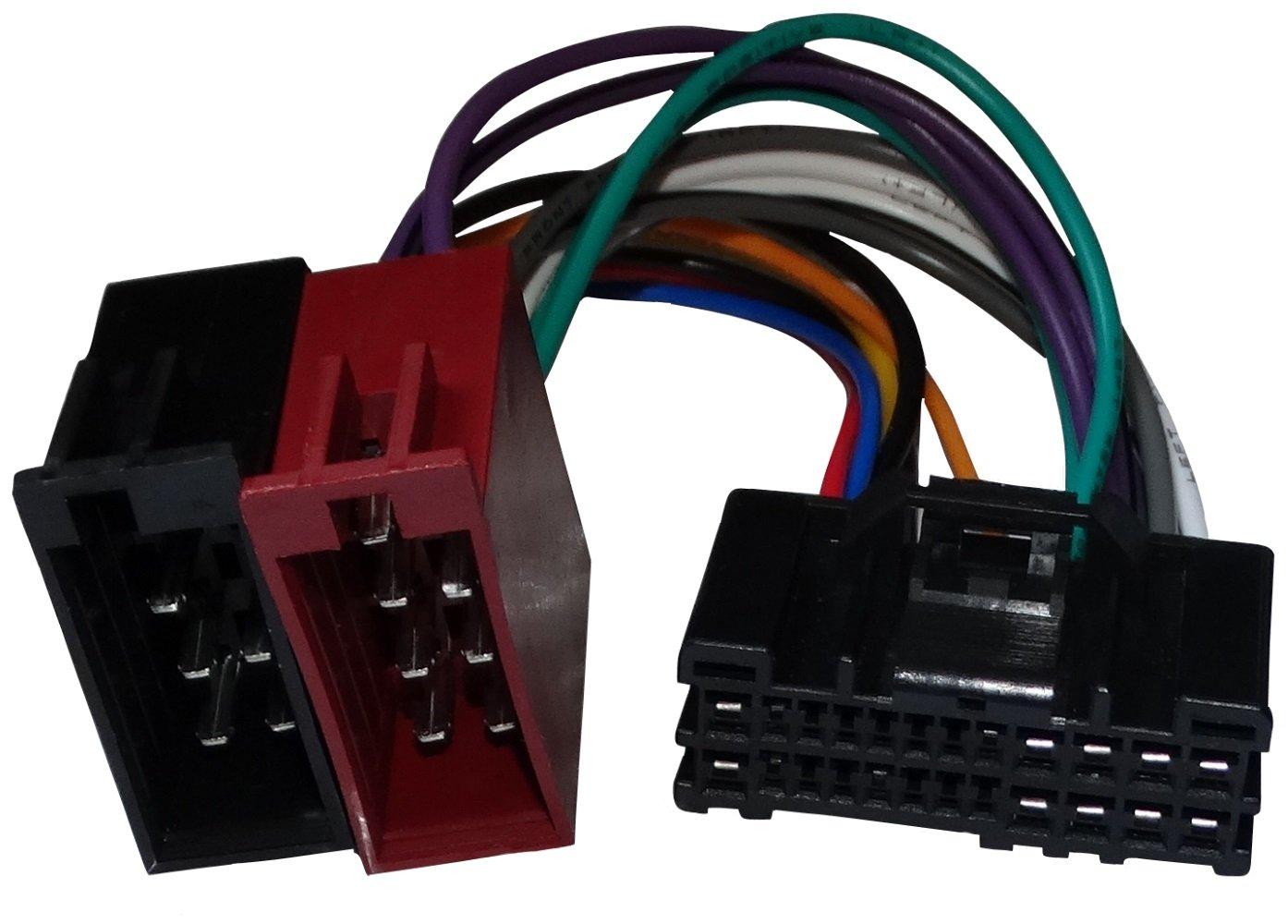 Aerzetix - Convertitore ISO adattatore connettore autoradio cavo di collegamento 24 PIN . SK2-C12028-R880