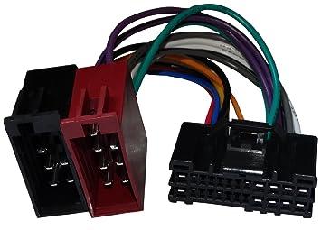Aerzetix Kabel Radioadapter Radio Kabel Stecker ISO-Kabel Verbindungskabel Adapter ISO-Konverter