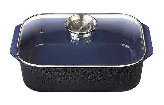 GSW Stahlwaren GmbH Fuente para Horno Rectangular con botón de ...