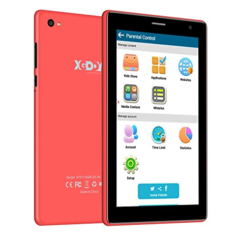 XGODY X701 Android 6.0 Kids Tablets Android con WiFi ...