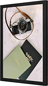 Minolta Milc Camera Wall Art with Pan Wood framed Ready to hang for home, bed room, office living room Home decor hand made Black color 33 x 43cm By LOWHA
