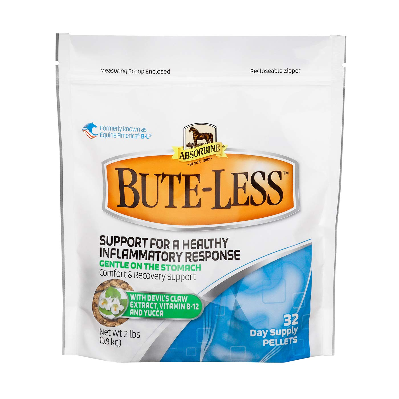 Absorbine Bute-Less Comfort & Recovery Supplement Pellets by Absorbine