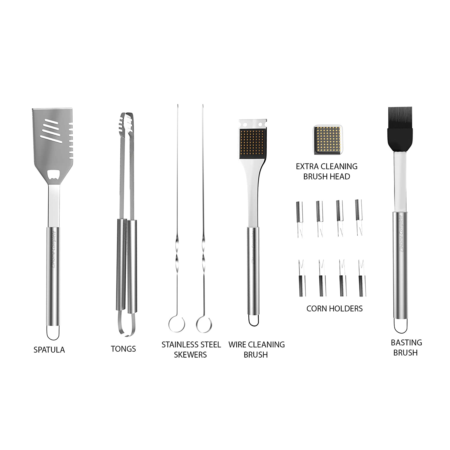 bbq grill tools set with 16 barbecue accessories