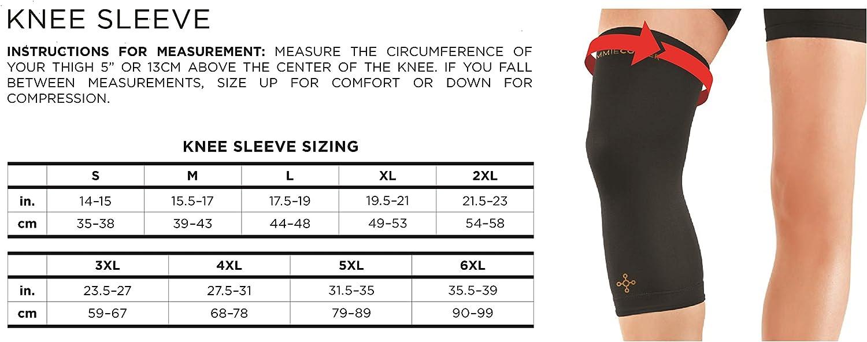 Tommie Copper Mens performance Knee sleeve 2.0