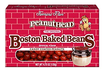 How do they make boston baked beans candy