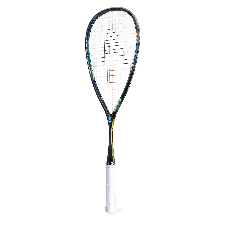 Raquette de Squash Raw 120 mais Faible Poids Housse compl/ète Inclus Karakal Raquette Nano Graphite//Titane