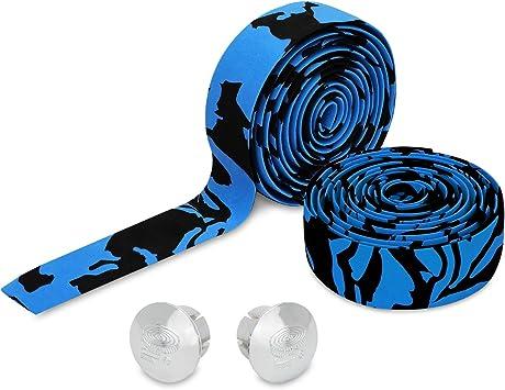 TOPCABIN® Camouflage Series Comfort Gel Cinta de Manillar de ...