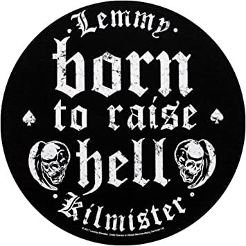 LEMMY KILMISTER Motorhead embroidered NEW patch