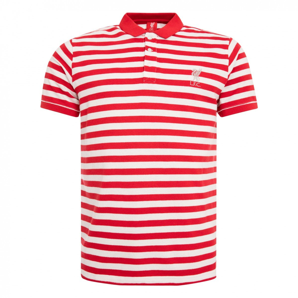 FC Liverpool Connections insby Stripe Polo Camiseta, Rojo/Blanco ...