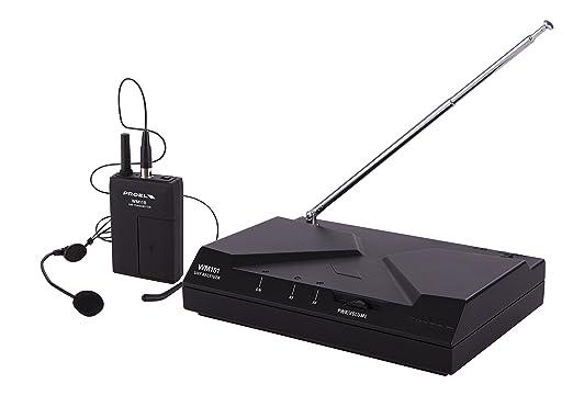 9 opinioni per PROEL WM101H radiomicrofono UHF wireless con archetto per canto, sport fitness,