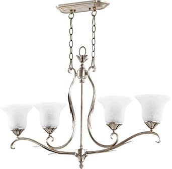 Quorum Lighting 6572 4 60 Flora Linear Pendant 4LT 300 Watts