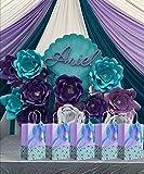 16Pk Glitter Mermaid Gift Bags Mermaid Party