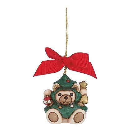 Thun Mini Orso Teddy Alberello Da Appendere Addobbo Natalizio