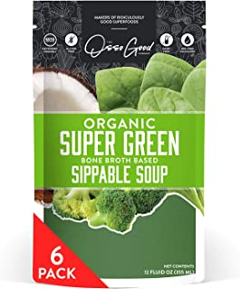 product image for Osso Good Super Green Soup, 6 - 12 Ounce Pouches, Ships Frozen