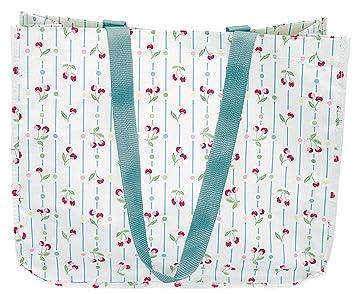 Greengate PPWSHBRCHE0112 Cherry Shopping Tasche weiss 42 x