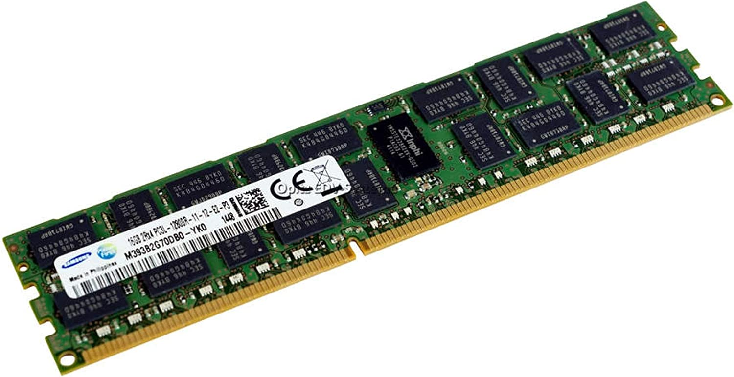 For SamSung 8GB DDR3 1600MHZ PC3-12800R CL11 240PIN 1.35V ECC Server  Memory RAM