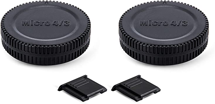 Body+Rear Lens Cap Cover Protective Case For Olympus M4//3 Camera Accessory Bl DD